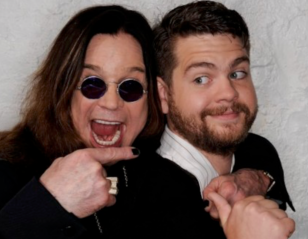 Jack Osbourne with his father Ozzie